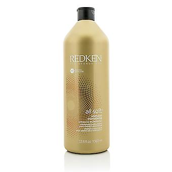 Redken All Soft Shampoo (For tørr / sprøtt hår) 1000 ml / 33,8 oz