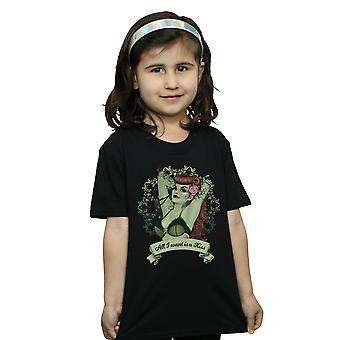DC Comics jenter Poison Ivy alt jeg ønsker er en kyss t-skjorte