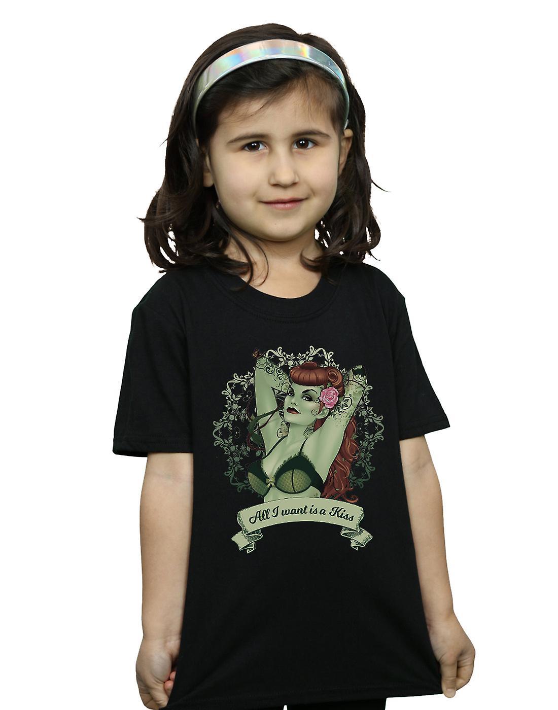DC Comics filles Poison Ivy tous que je veux est un T-Shirt Kiss