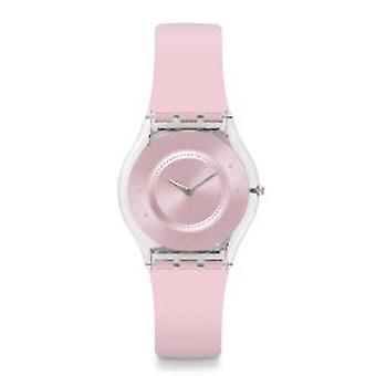 Staal roze Pastel Damenuhr (SFE111)