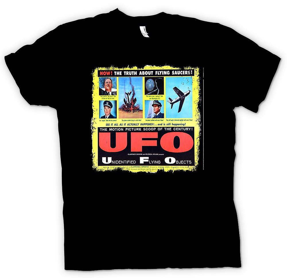 Mens T-shirt - Unidentified Flying Objects - UFO