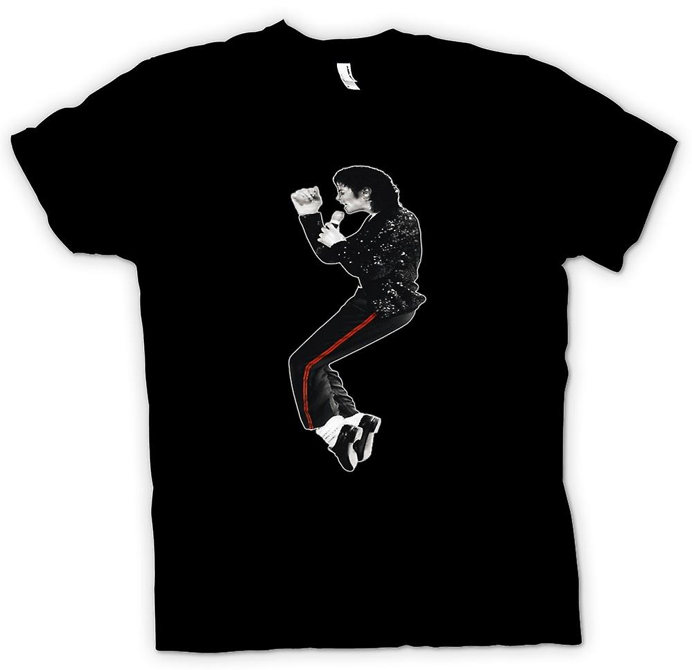 Womens T-shirt-Michael Jackson Bad