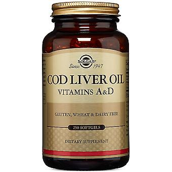 Solgar, One A Day Norwegian Cod Liver Oil Softgels, 250