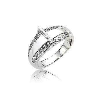 Orphelia Silver 925 Ring Fantasy  Zirconium   ZR-3668
