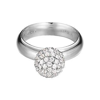 ESPRIT women's ring silver zirconia sphere ESRG92309A1