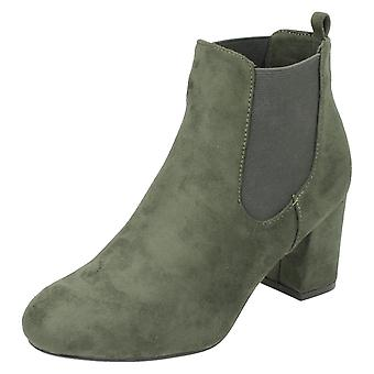 Ladies Anne Michelle Blocked Heel Ankle Boots F50586