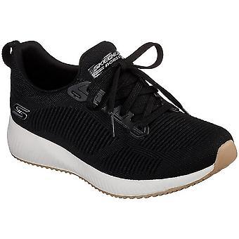 31362BLK Skechers Bobs escuadra universal todos los zapatos de las mujeres año
