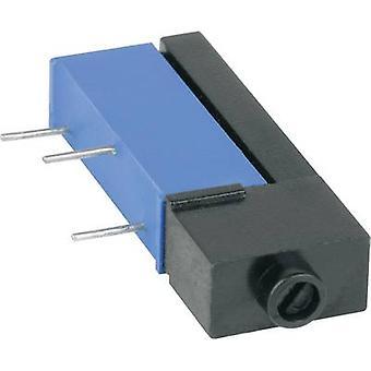Mentor 1834.3081 Cermet trimmer 15-pos linear 0.9 W 5 kΩ 1 pc(s)