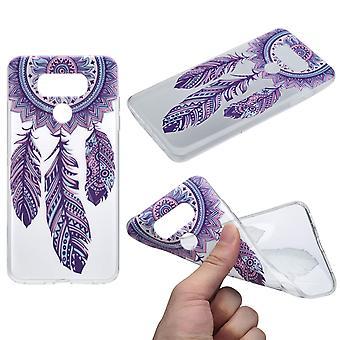 Henna Cover für LG G6 Case Schutz Hülle Silikon Traumfänger