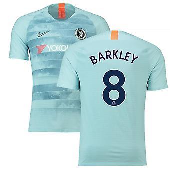 2018-19 قميص كرة القدم تشلسي الثالث (باركلي 8)-للأطفال