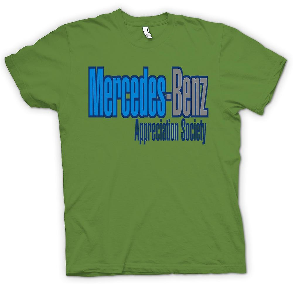 Mens T-shirt - Mercedes - Benz Appreciation Society