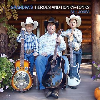 Bill Jones - Grandpas Hereos & Honky-Tonks [DVD] USA import