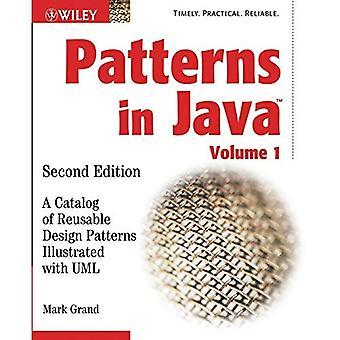 Mönster i Java: katalog av återanvändbara designmönster illustrerad med UML v. 1