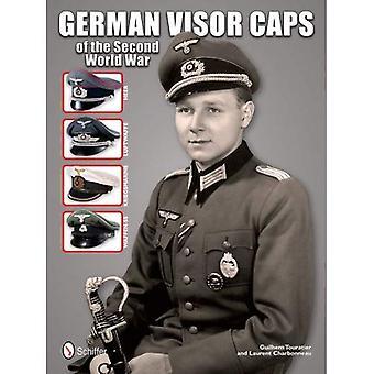 Deutsche Visier Kappen aus dem zweiten Weltkrieg