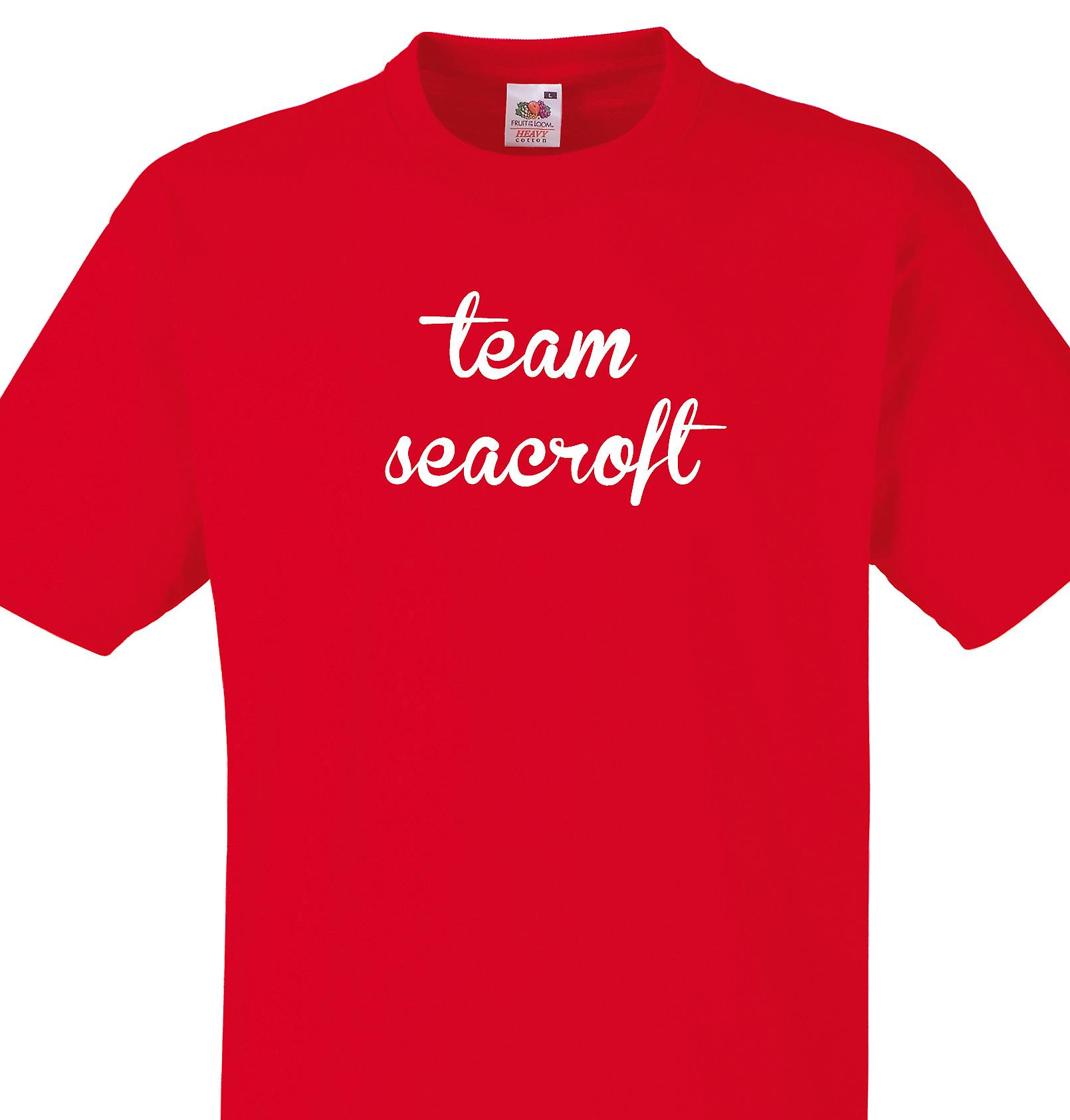 Team Seacroft Red T shirt