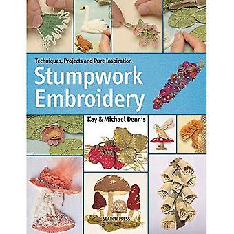 Stumpwork borduurwerk: Een praktische handleiding voor het maken van planten, dieren & cijfers