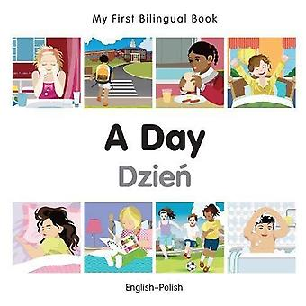 My First Bilingual Book - A Day  - Polish-English