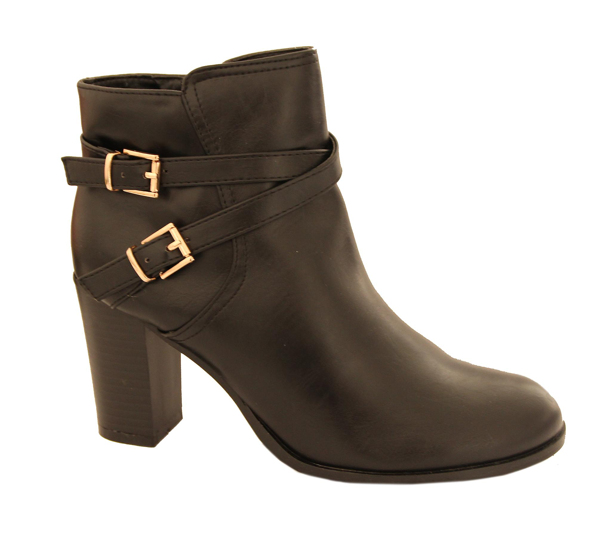 Waooh - High ankle boot strap golden Hashly