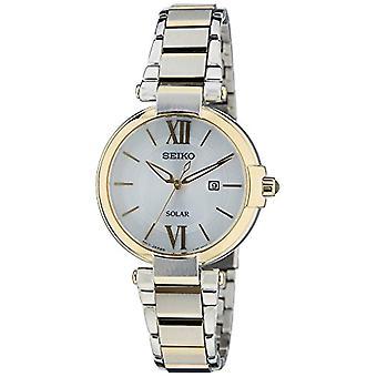 Seiko Solar wristwatch SUT154P1 Classic simple