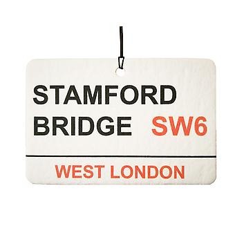 Chelsea / Stamford Bridge Street Sign Car Air Freshener