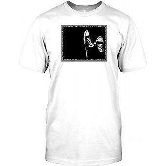 Converse B&W Design - fajny efekt męskie T Shirt