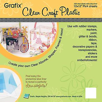 Craft Plastic Sheets 12