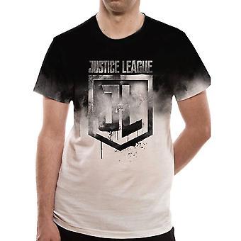 Men's Justice League Sublimation Print T-Shirt