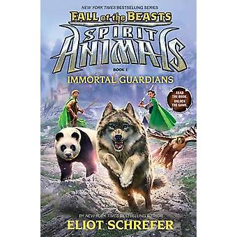 Immortal Guardians by Eliot Schrefer - 9780545830003 Book
