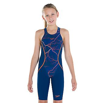 Speedo Fastskin Junior Lzr racer X Kneeskin badetøy for jenter