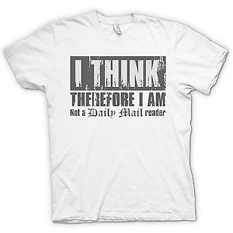 Camiseta de niños - por lo tanto creo que no soy un correo diario