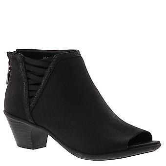 Easy Street Womens Paris Open Toe Ankle Fashion Boots