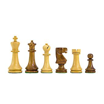 Pioneer Golden Rosewood Chessmen 3.75 Inches