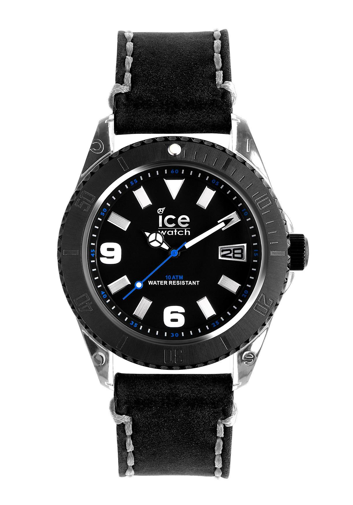 Ice-Watch Ice-Vintage Big Black-Grey Armbanduhr (VT. BK. B.L.13)