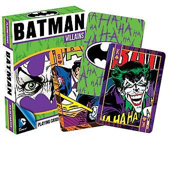 Carta da gioco - DC Comics - Batman Villains Poker Licensed Gifts Toys 52265