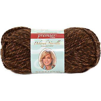 Deborah Norville Collection Serenity Chunky Heathers Yarn-Coffee DN750-12