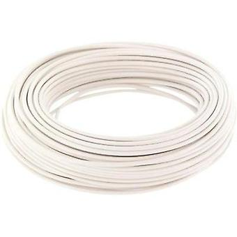Jumper wire 1 x 0.2 mm² White BELI-BECO D 105/10 bianco 10 m