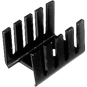 Heat sink 21 C/W (L x W x H) 19.05 x 13.21 x 12.7 mm TO 220 ASSMANN WSW V7236C1