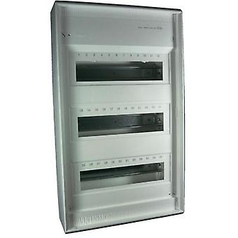 Switchboard cabinet Surface-mount No. of partitions = 36 No. of rows = 3 Hager VA36CN