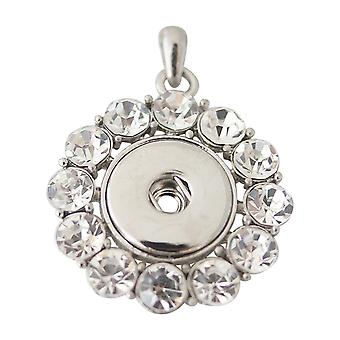 Stainless steel pendant for click buttons KB0155