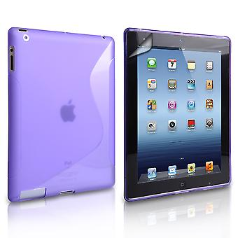 Caseflex Apple iPad Mini 2, 3 SLine Gel Case Purple