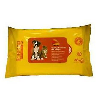 Freedog Mango essentially wipes 40 pcs 28x18cm 45 gr.