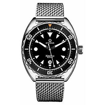 Eterna Mens Super Kontiki Automatic Steel Mesh Strap 1273.41.40.1718 Watch