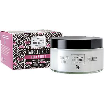 Scottish Fine Soaps Tangled Rose Body Butter Jar