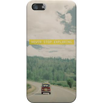 Cover mate Never stop exploring for iPhone 5S/SE
