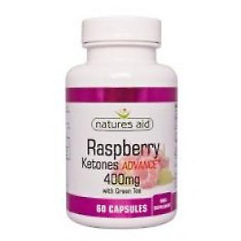 Natures Aid - Raspberry Ketones Adv+400MG + with green tea 60VCaps