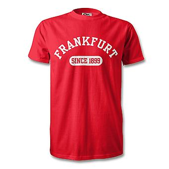 Eintracht Frankfurt 1899 Established Football T-Shirt