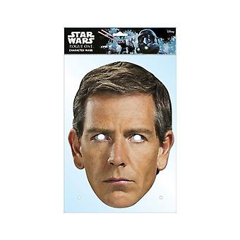 Orson Krennic Rogue One: A Star Wars Story Single 2D Card Party Face Mask