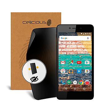 Celicious Privacy Archos 50e Neon 2-Way Visual Black Out Screen Protector