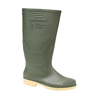 Dikamar Mens Administrator Plain Rubber Wellingtons Boots PVC Nitrile Slip On