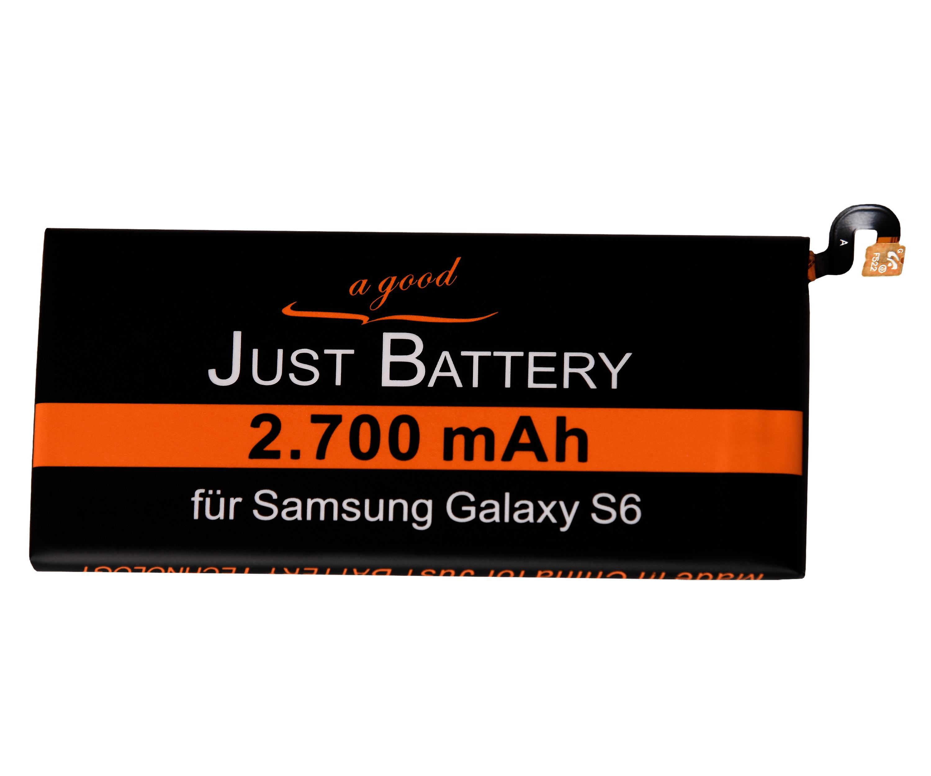 Battery for Samsung Galaxy S6 SM G920F incl. tool kit